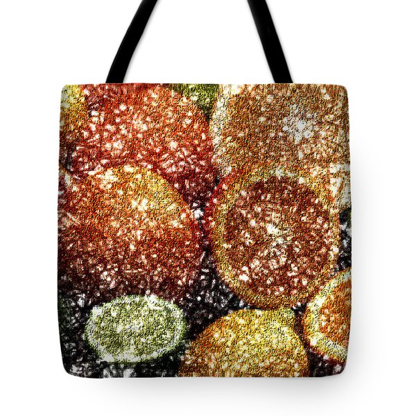 Crystal Grapefruit Tote Bag by Yael VanGruber