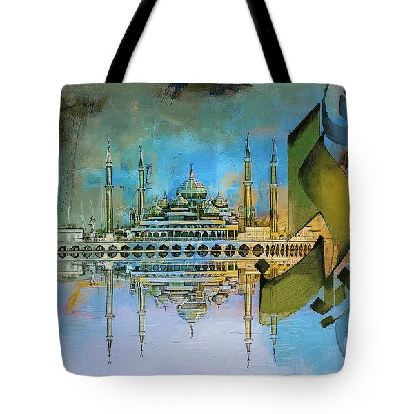Crystal Mosque Tote Bag by Corporate Art Task Force