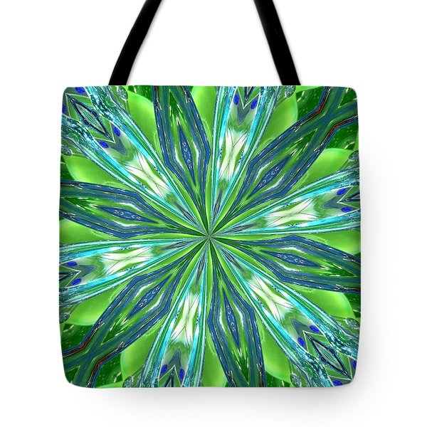 Crystal Ocean Tote Bag by Donna Blackhall