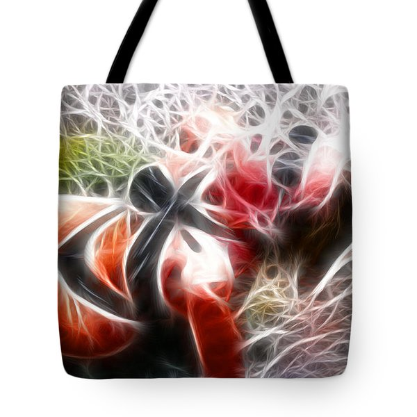 Crystal Sling 2 Fractal Tote Bag by Gary Gingrich Galleries