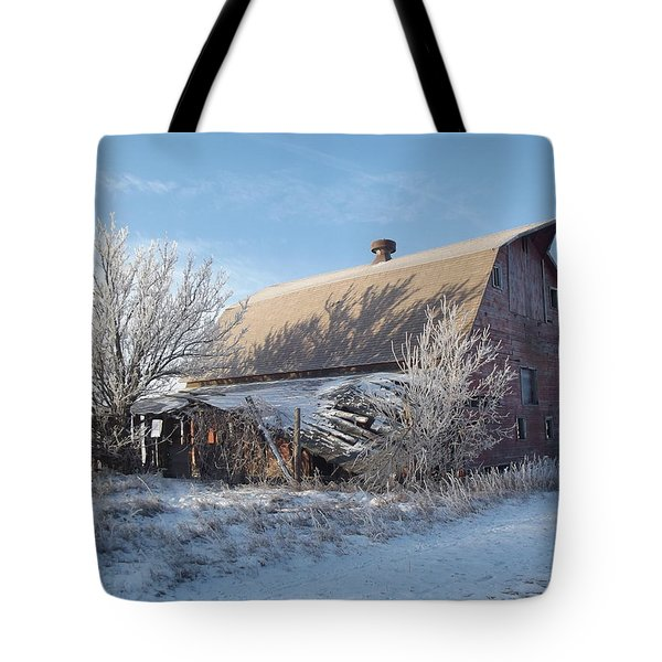 Crystaline Barn Tote Bag by Bonfire Photography