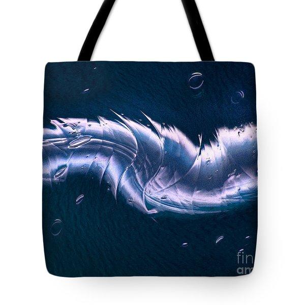 Crystalline Entity Tote Bag by Peter Piatt