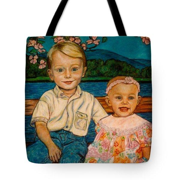 Crystal's Children Tote Bag by Kendall Kessler