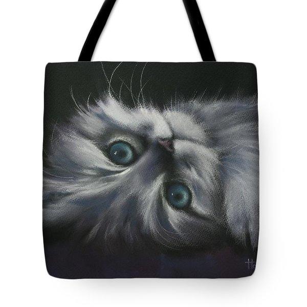 Cuddles Tote Bag by Cynthia House