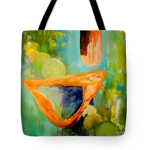 Cue L'orange Tote Bag by Larry Martin