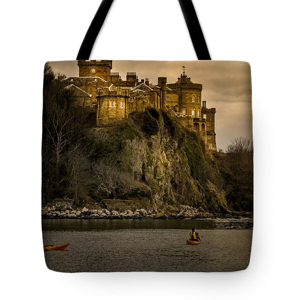 Culzean Castle Scotland Tote Bag by Alex Saunders