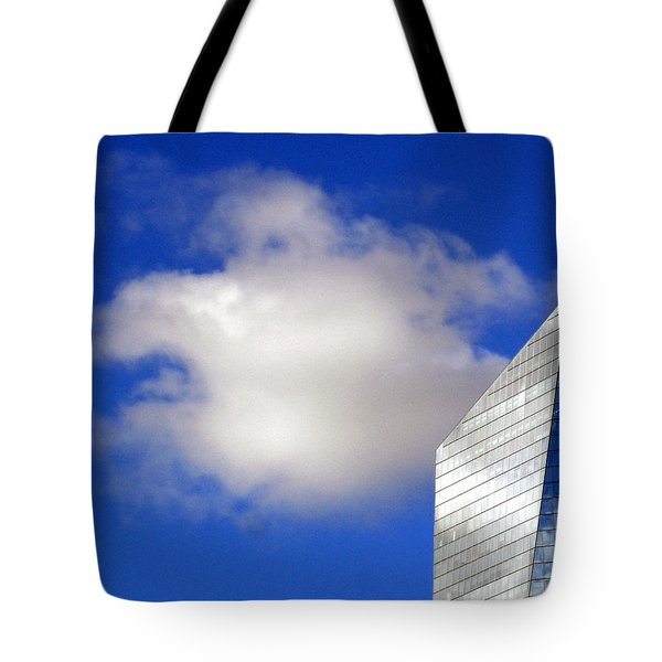 Cumulus and Cira Tote Bag by Lisa  Phillips