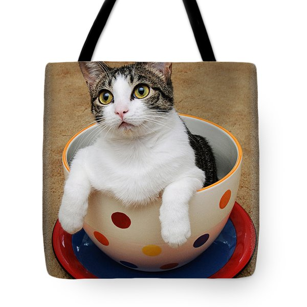 Cup O Tilly 1 Tote Bag by Andee Design