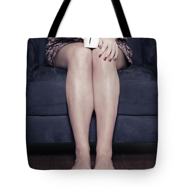 cup of coffee Tote Bag by Joana Kruse