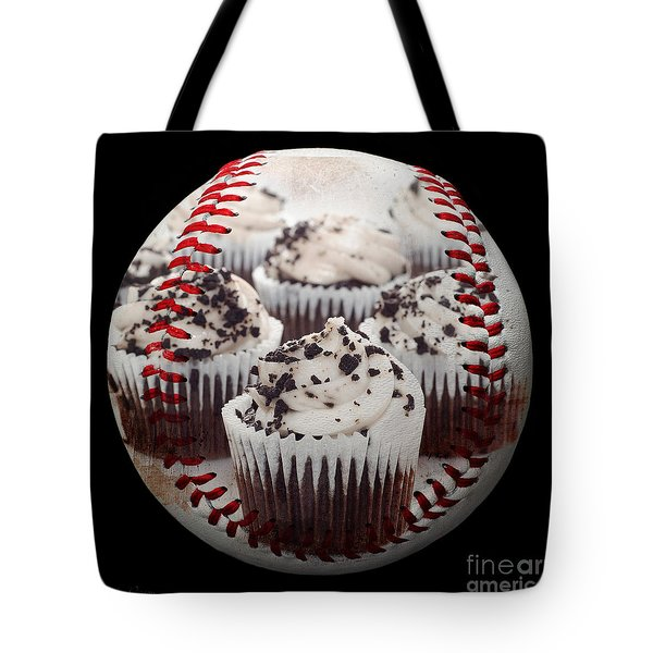 Cupcake Cuties Baseball Square Tote Bag by Andee Design