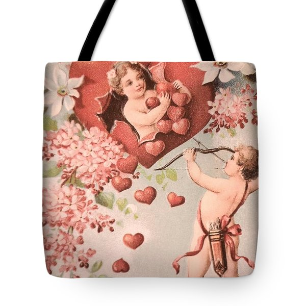 Cupid Tote Bag by M and L Creations