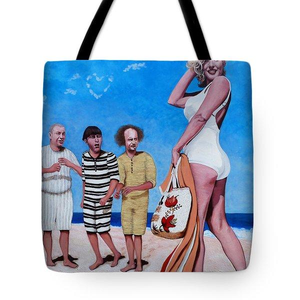 Cupid's Arrow Tote Bag by Tom Roderick