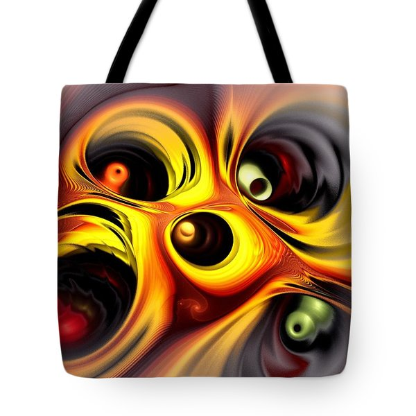 Curious Tote Bag by Anastasiya Malakhova