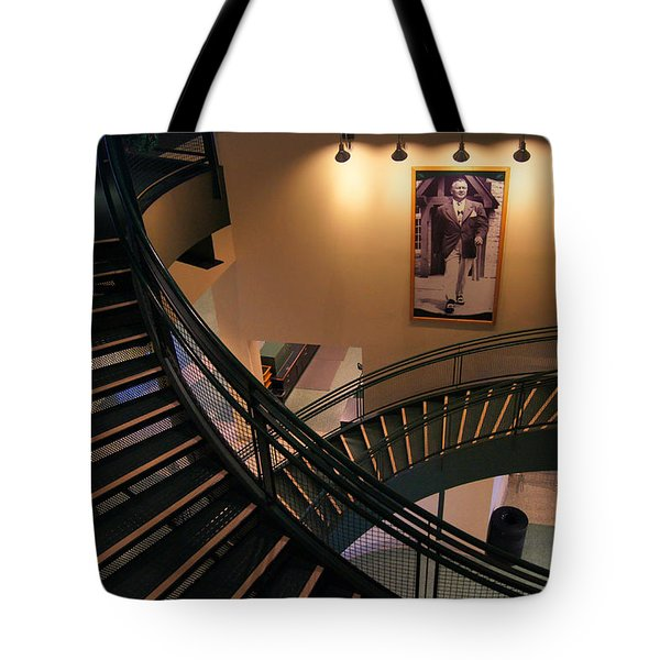 Curly's Stairway Tote Bag by Bill Pevlor