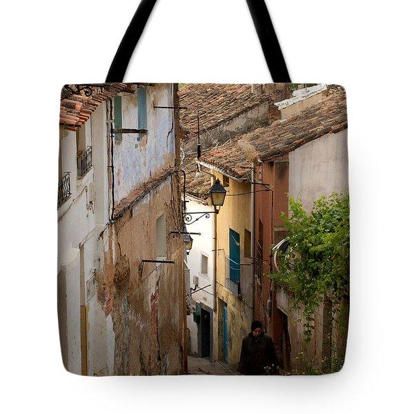 Currruca Slope Of Calahorra Tote Bag by RicardMN Photography