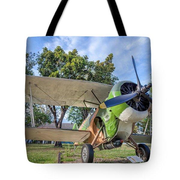 Curtiss Hawk IIi  Tote Bag by Adrian Evans