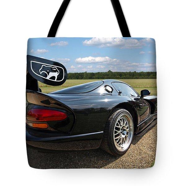 Curvalicious Viper Tote Bag by Gill Billington