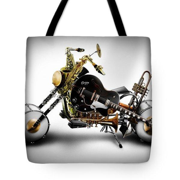 Custom Band II Tote Bag by Alessandro Della Pietra