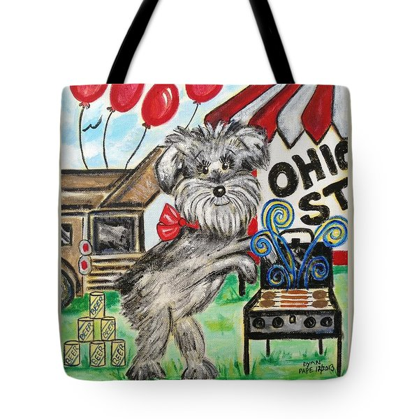 Osu Tailgating Dog Tote Bag by Diane Pape