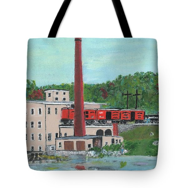 Cutler's Mill - Circa 1870 Tote Bag by Cliff Wilson