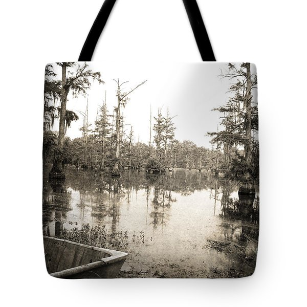 Cypress Swamp Tote Bag by Scott Pellegrin