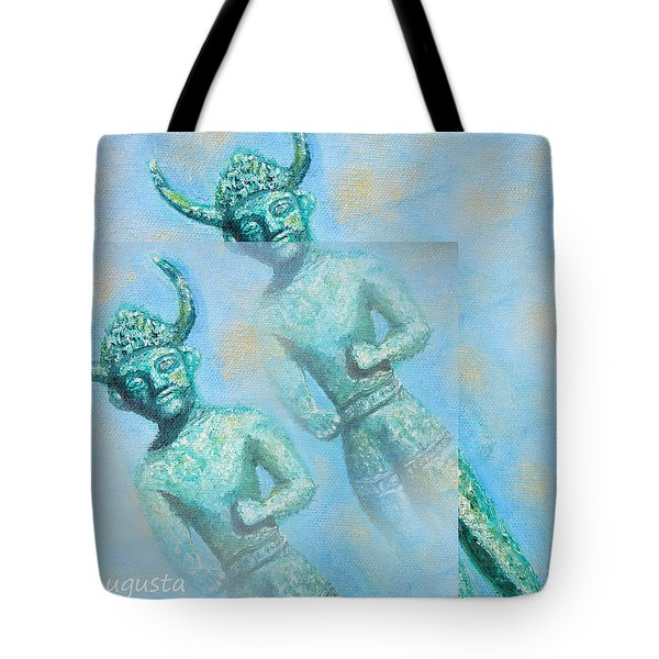Cyprus Gods of Trade. Tote Bag by Augusta Stylianou