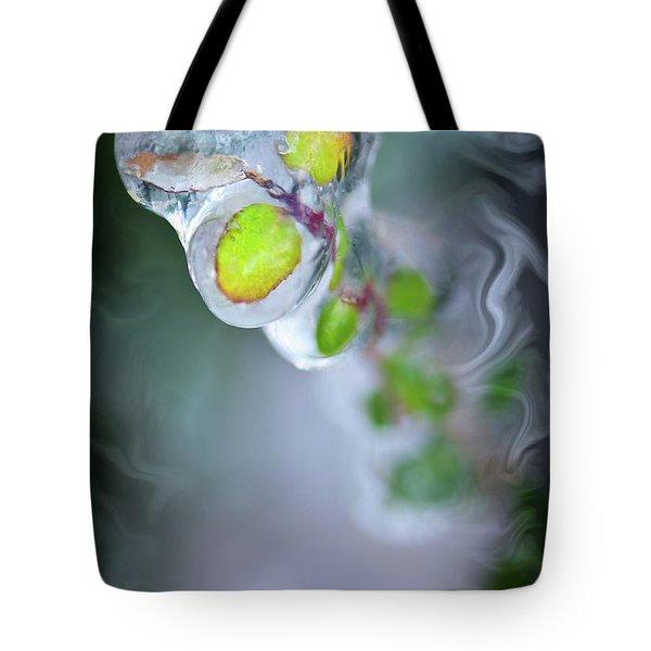 D E F R O S T Tote Bag by Charles Dobbs