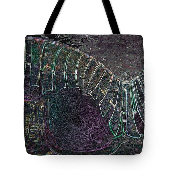 Da Vinci's Night Tote Bag by Wendy J St Christopher