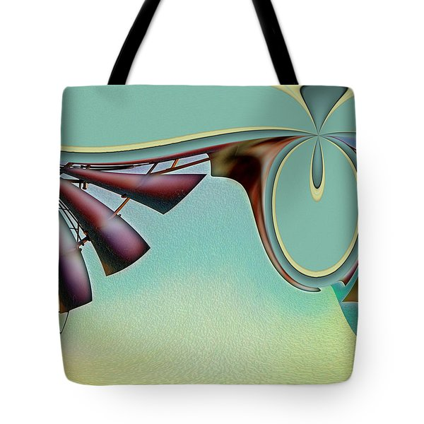 Da Vinci's Nudge Tote Bag by Wendy J St Christopher