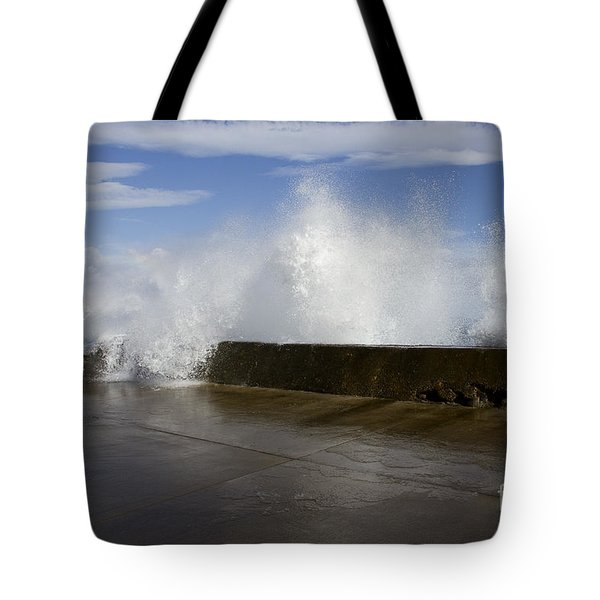 Da Wave Tote Bag by Sharon Mau