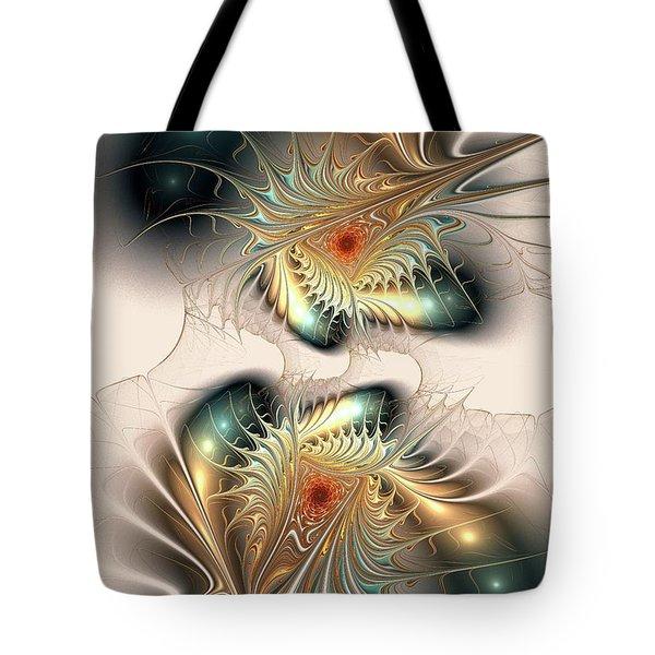 Daemons Within Tote Bag by Anastasiya Malakhova