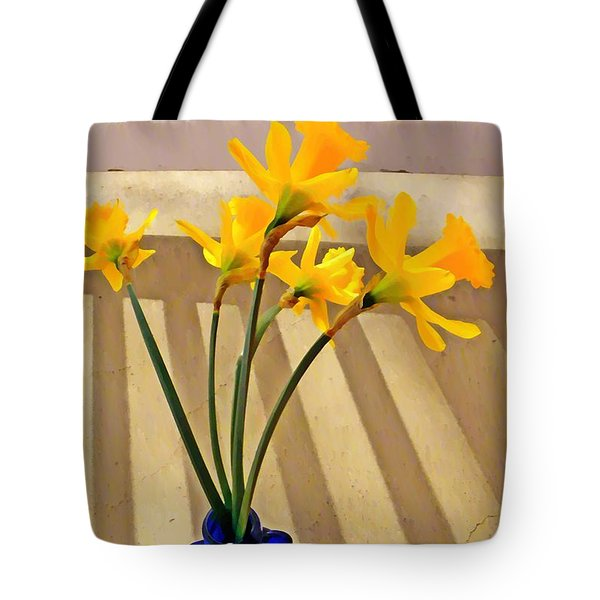 Daffodil Boquet Tote Bag by Chris Berry