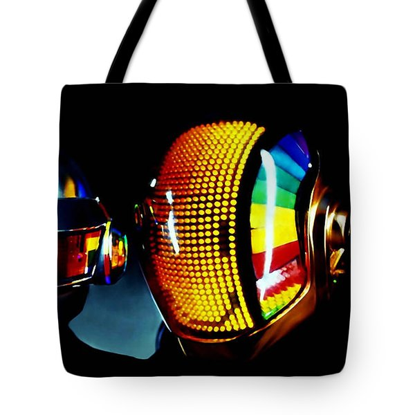 Daft Punk  Tote Bag by Marvin Blaine