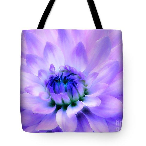 Dahlia Dream Tote Bag by Rory Sagner