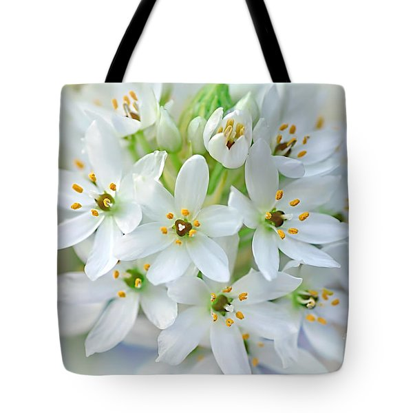 Dainty Spring Blossoms Tote Bag by Kaye Menner