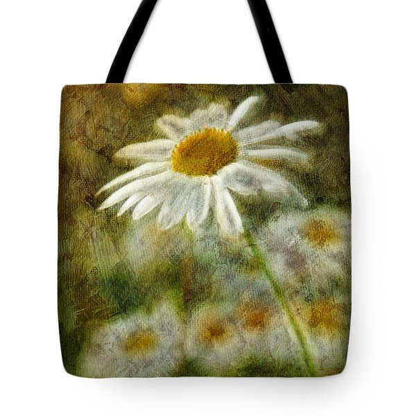 Daisies ... again - p11at01 Tote Bag by Variance Collections