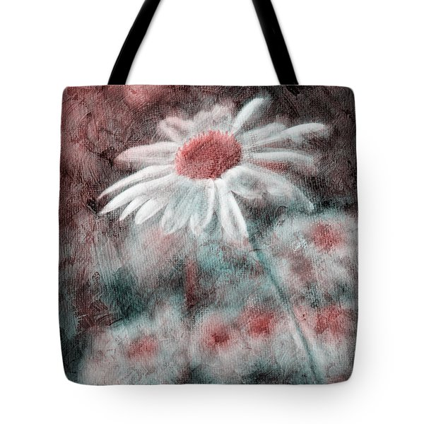 Daisies ... Again - P11ac2t1 Tote Bag by Variance Collections