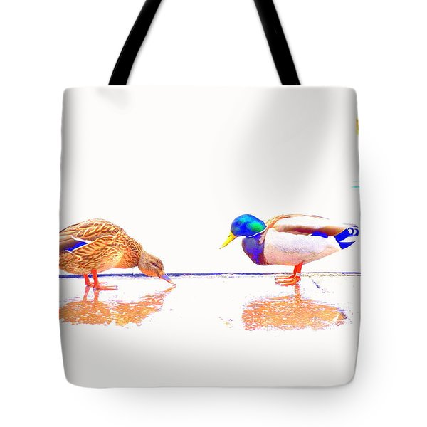 Daisy And You Tote Bag by Hilde Widerberg