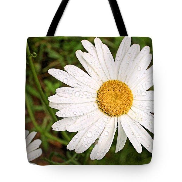 Daisy Freshness Tote Bag by Kristin Elmquist