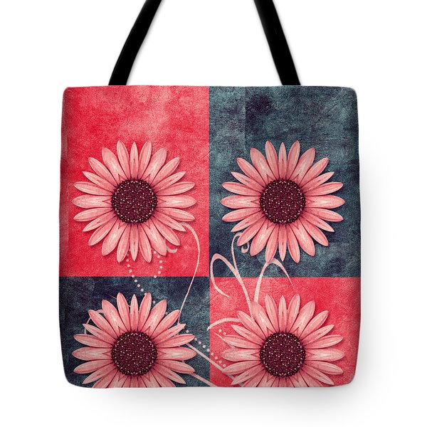 Daisy Quatro V13b Tote Bag by Variance Collections