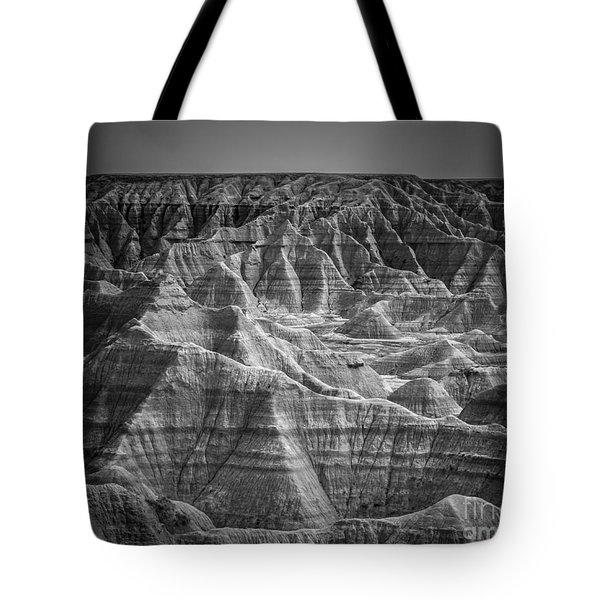 Dakota Badlands Tote Bag by Perry Webster