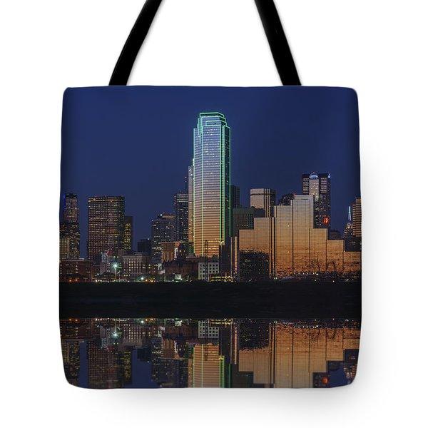 Dallas Aglow Tote Bag by Rick Berk
