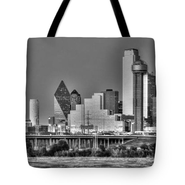 Dallas The New Gotham City  Tote Bag by Jonathan Davison