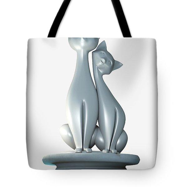 Damn Cats... Tote Bag by Tim Fillingim
