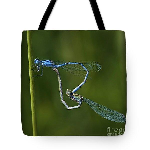 Damsel Love.. Tote Bag by Nina Stavlund