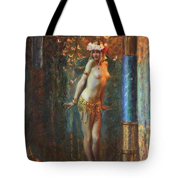 Dance De Salome Tote Bag by Gaston Bussiere
