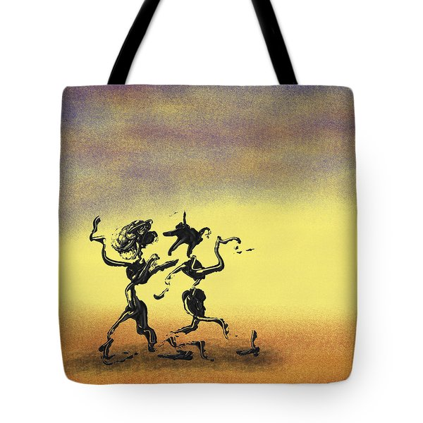 Dance I Tote Bag by Manuel Sueess