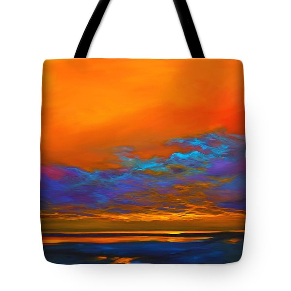 Dance Of Angels Tote Bag by Savlen Art