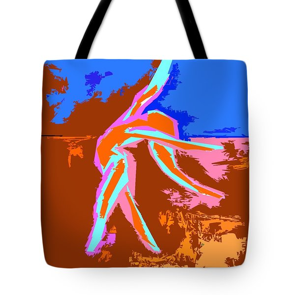 DANCE OF JOY 2 Tote Bag by Patrick J Murphy
