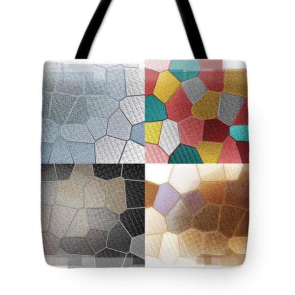 Dance Of Light Tote Bag by Bill Cannon